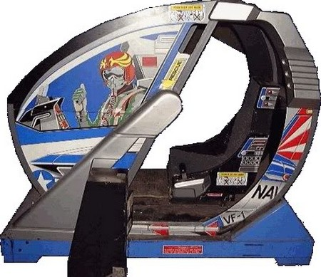 La recreativa del After Burner