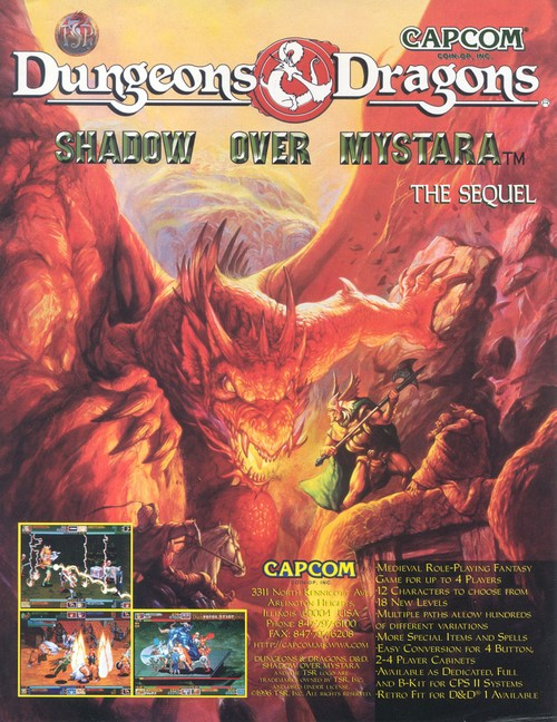 Dungeons & Dragons: Shadow over Mystara (Arcade)