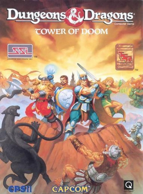 Dungeons & Dragons: Tower of Doom (Arcade)