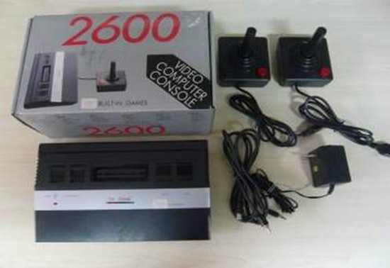 Mi Atari 2600 clónica (TV Game 2600)