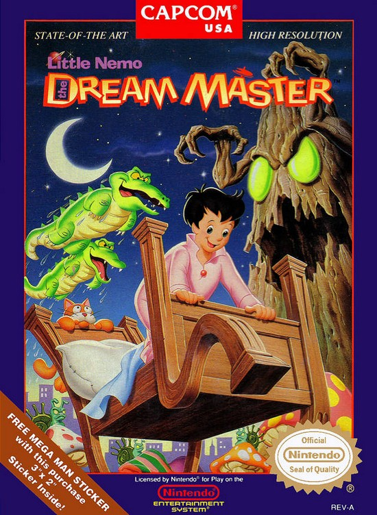 Little Nemo the Dream Master (N.E.S.)
