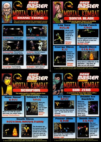 Mortal Kombat - Moviemientos 2