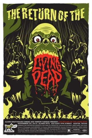 Return of the Living Dead Mondo Poster