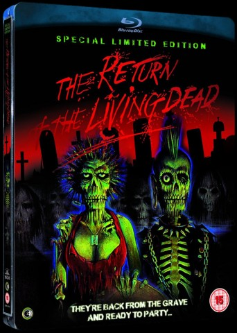Return of the Living Dead blue ray edicion limitada