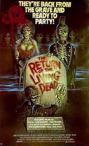 Return of the Living Dead caratula 1