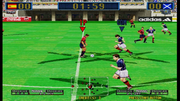 Virtua Striler 2 - Blur