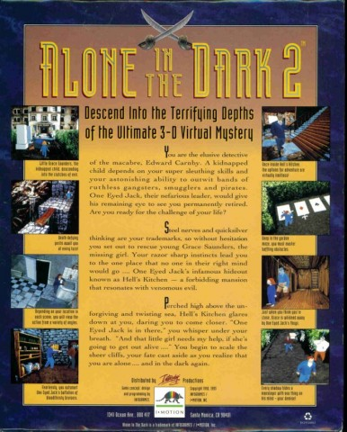 Alone in the Dark 2 - Back