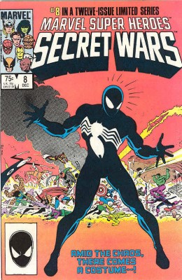 Secret-Wars-el-origen-del-traje-negro-de-Spider-man